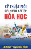 Tải sách Kỹ thuật mới giải nhanh bài tập hóa học