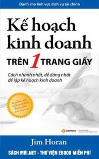 Tải ebook Kế Hoạch Kinh Doanh Trên Một Trang Giấy PDF/PRC/EPUB/MOBI