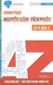 Tải sách Chinh phục nguyên hàm - tích phân từ A đến Z PDF
