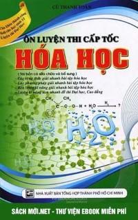 Tải sách Ôn thi cấp tốc môn Hóa học PDF