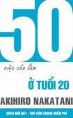 Tải ebook 50 việc cần làm ở tuổi 20 PDF/PRC/EPUB/MOBI