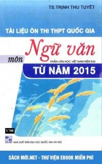 Tải sách Tài liệu ôn thi THPT Quốc gia môn Ngữ Văn PDF