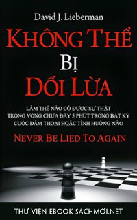Tải ebook Không Thể Bị Dối Lừa PDF/PRC/EPUB/MOBI/AZW3