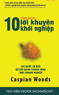 Download sách 10 Lời Khuyên Khởi Nghiệp PDF/PRC/EPUB/MOBI/AZW3