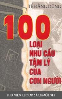 Tải ebook 100 Nhu Cầu Tâm Lý Con Người PDF/PRC/EPUB/MOBI/AZW3