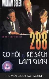 Download ebook 288 Cơ Hội Và Kế Sách Làm Giàu PDF/PRC/ePUB/MOBI/AZW3