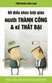 Tải ebook 89 Điều Khác Biệt Giữa Người Thành Công Và Kẻ Thất Bại PDF/PRC/EPUB/MOBI/AZW3