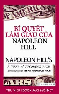 Tải ebook Bí quyết làm giàu của Napoleon Hill PDF/PRC/EPUB/MOBI/AZW3