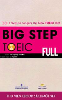 Download Trọn bộ Big Step TOEIC 1, 2, 3 PDF