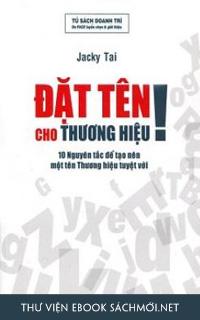 Download sách Đặt Tên Cho Thương Hiệu PDF/PRC/EPUB/MOBI/AZW3