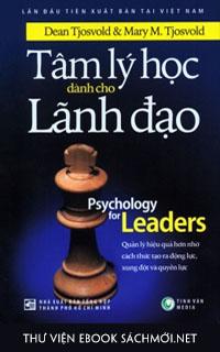 Download sách Tâm Lý Học Dành Cho Lãnh Đạo PDF/PRC/EPUB/MOBI/AZW3