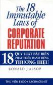 Download ebook18 Quy Luật Bất Biến Phát Triển Danh Tiếng Thương Hiệu PDF/PRC/EPUB/MOBI/AZW3
