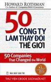 Download sách 50 Công Ty Làm Thay Đổi Thế Giới PDF/PRC/EPUB/MOBI/AZW3