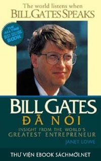 Tải ebook Bill Gates Đã Nói PDF/PRC/EPUB/MOBI/AZW3