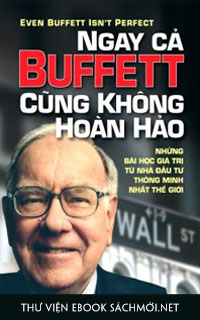 Tải ebook Ngay Cả Buffett Cũng Không Hoàn Hảo PDF/PRC/EPUB/MOBI/AZW3