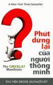 Download sách Phút Dừng Lại Của Người Thông Minh PDF/PRC/EPUB/MOBI/AZW3