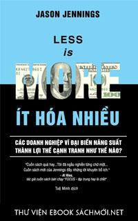 Download sách Ít Hoá Nhiều PDF/PRC/EPUB/MOBI/AZW3 cho Kindle, điện thoại, máy tính